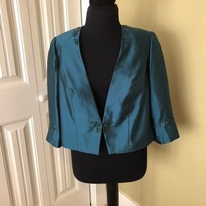 Alex Evenings beaded special occasion jacket